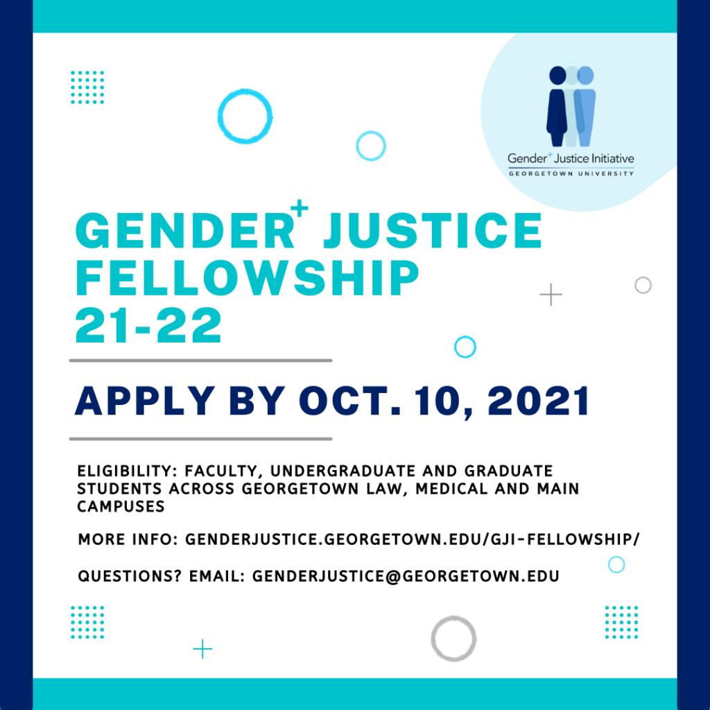CFP G+JI Fellowship Flyer