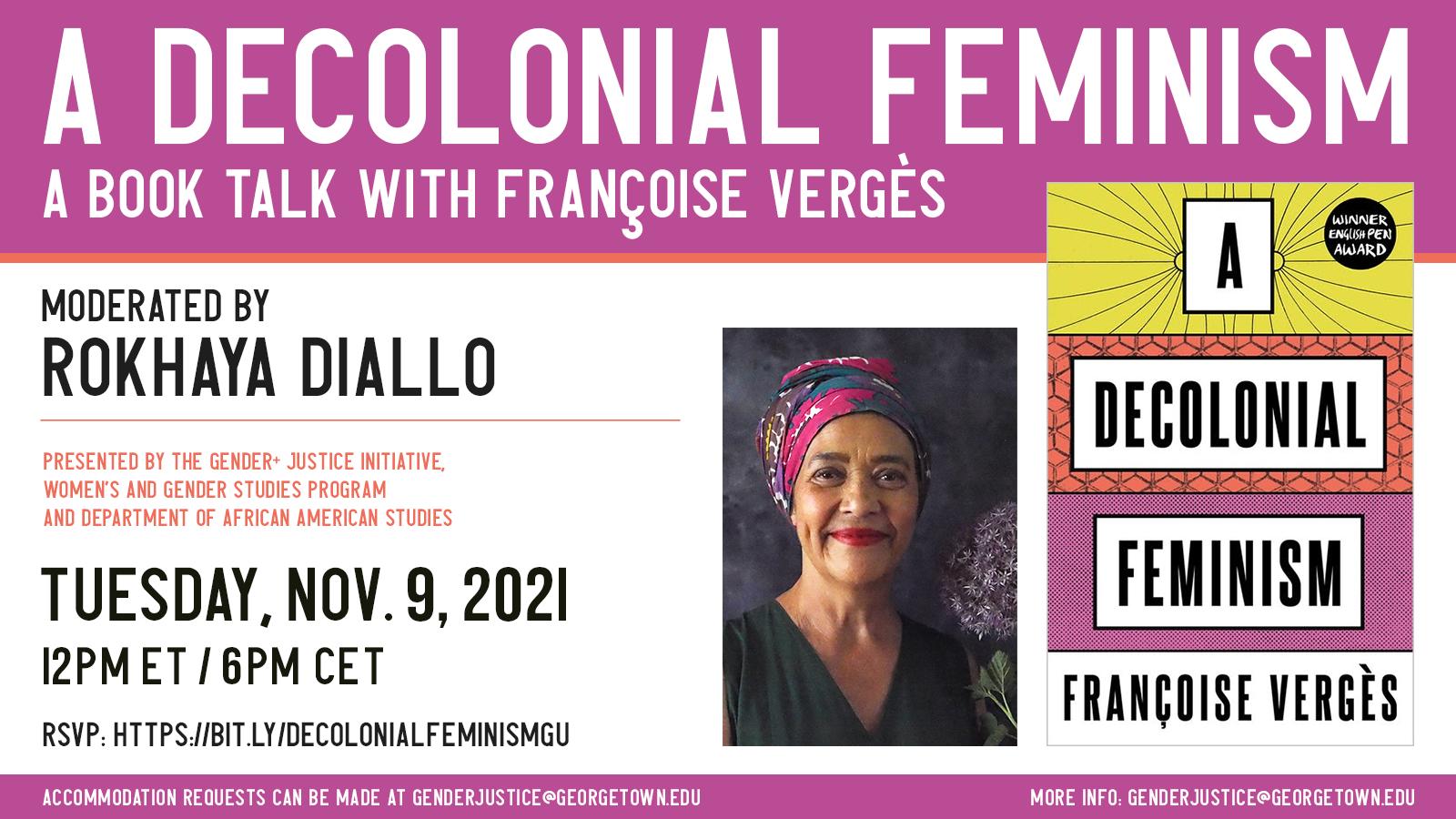 A Decolonial Feminism Flyer