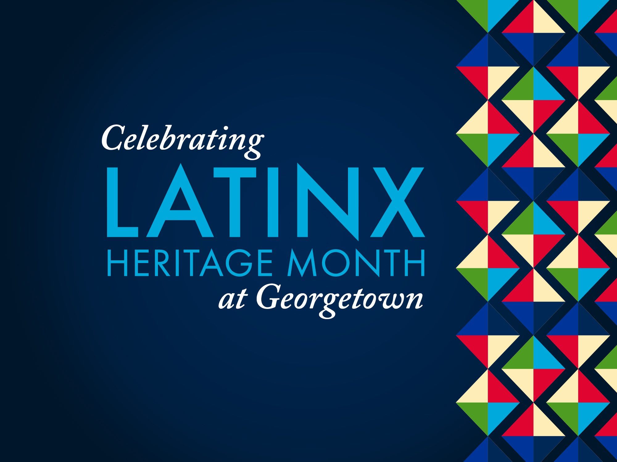 LatinX Heritage Month Flyer